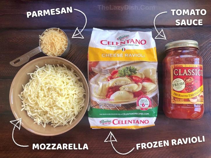 How to make lazy lasagna.