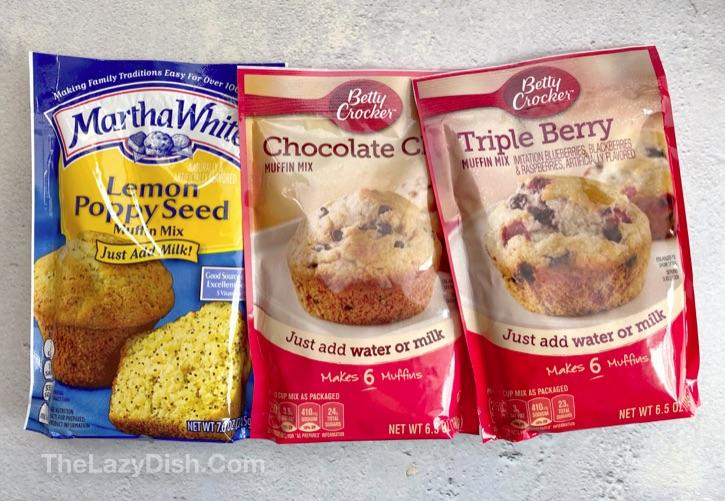 Betty Crocker and Martha White Muffin Mix Pancakes