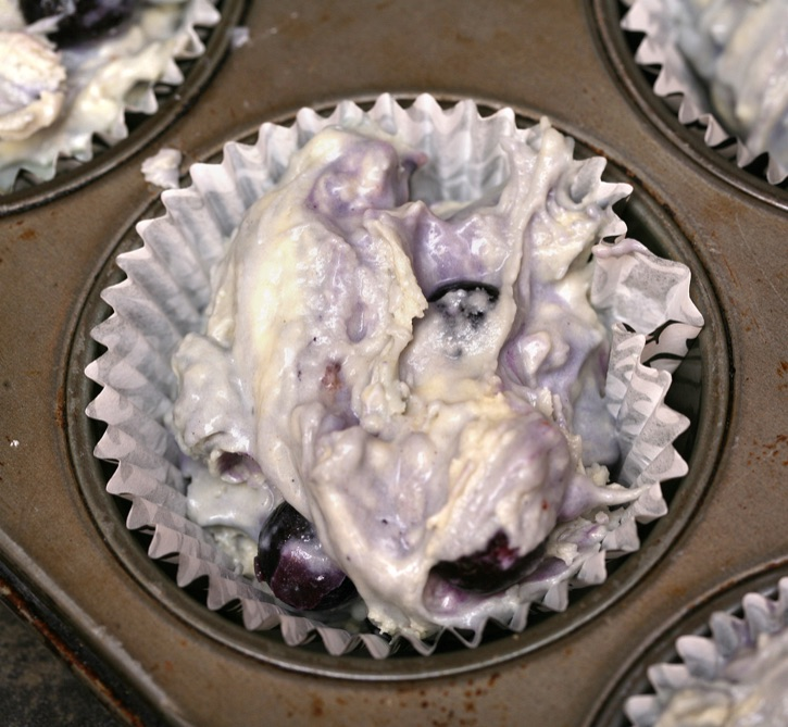 Super Easy Blueberry Muffins Made With Cake Mix