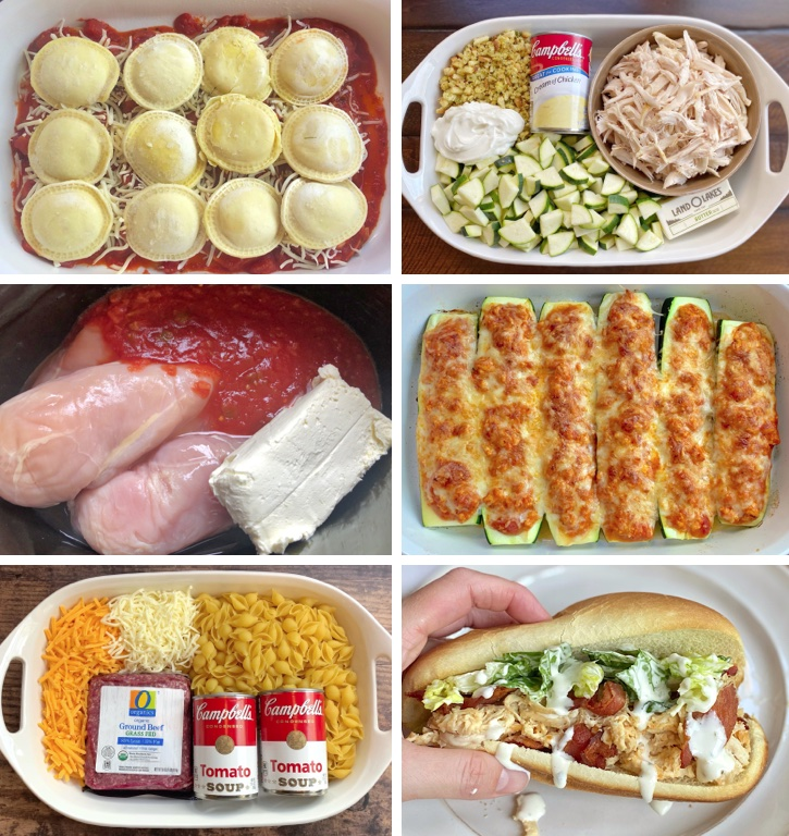 Quick and easy family dinner recipes! Everything from healthy baked chicken to ground beef comfort foods. Your picky eaters are going to love these simple weeknight meals! Most of them are cheap and made with just a few basic ingredients.